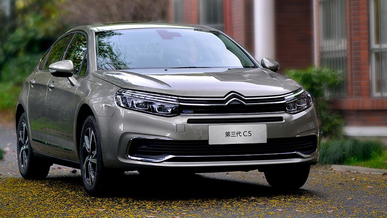 citroen announces allnew c5 for 2020 launch in europe