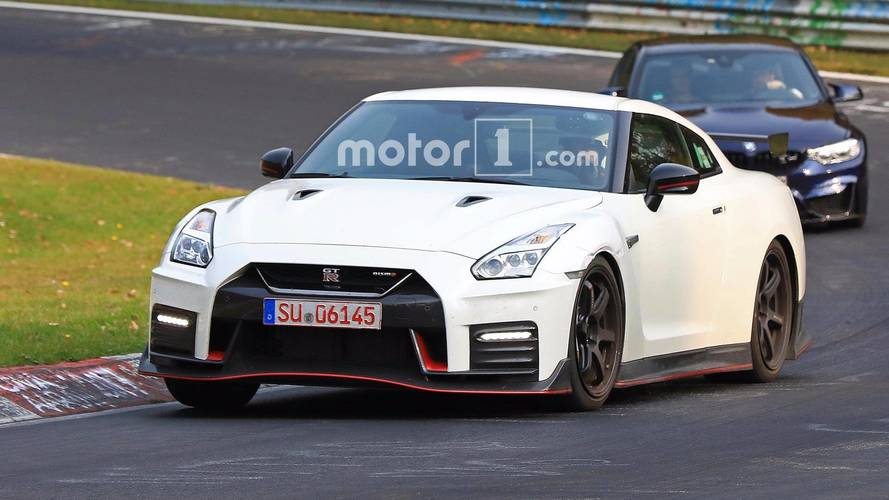 Nissan Spied Testing Hotter GT-R Nismo With Fender Vents