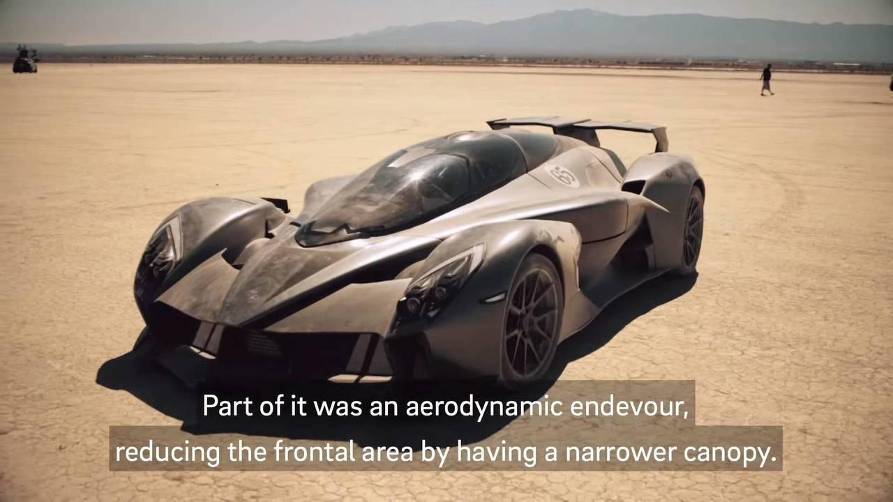 Tachyon Speed superdeportivo eléctrico