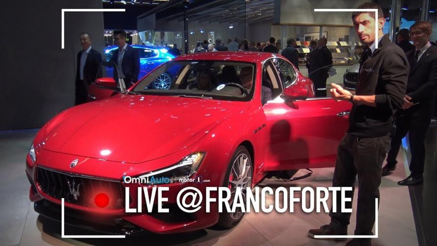 Salone di Francoforte: Maserati Ghibli, ora è più high tech [VIDEO]