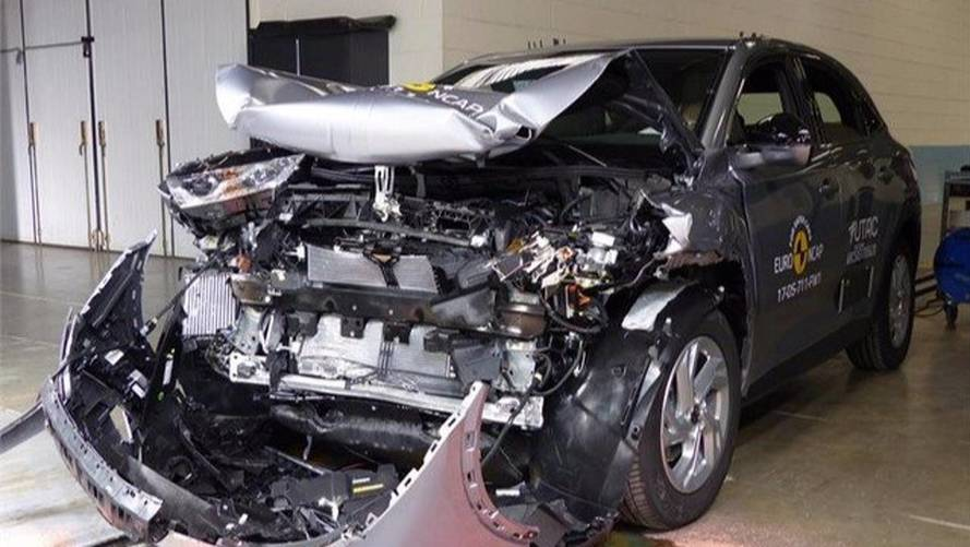 Le DS 7 Crossback réussit son crash-test