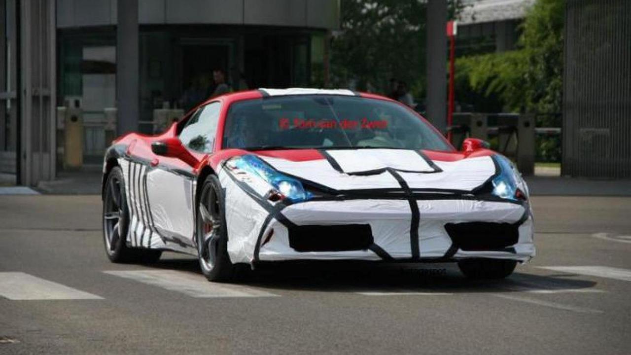 Ferrari 458 Monte Carlo spy photo 26.07.2013