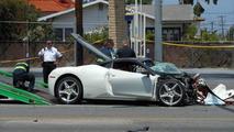 Ferrari 458 Italia driver killed