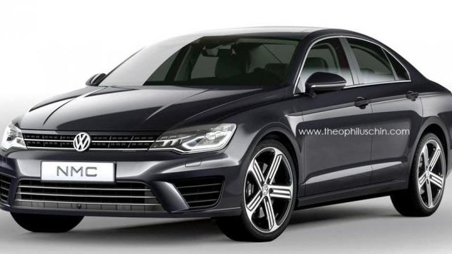 Volkswagen Jetta CC rendered based on NMC concept