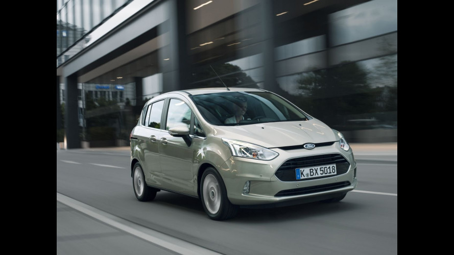 Ford B-MAX con Active City Stop