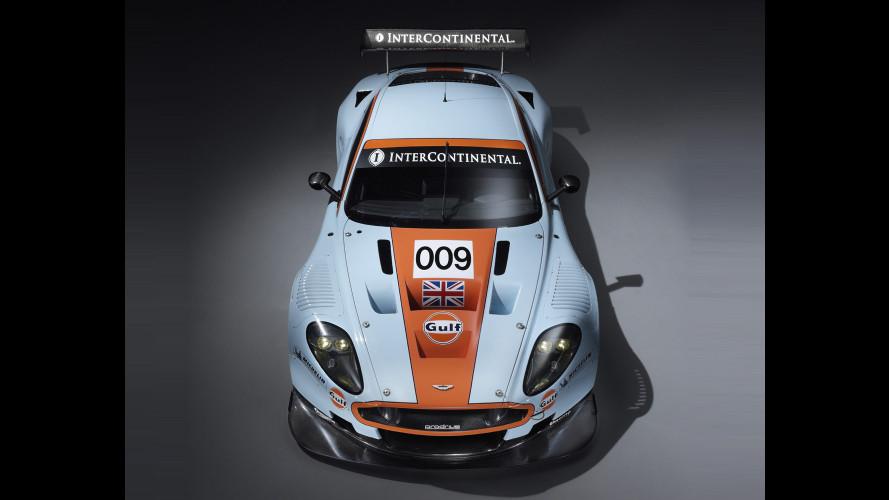 La livrea Gulf torna a Le Mans sulle Aston Martin DBRS9