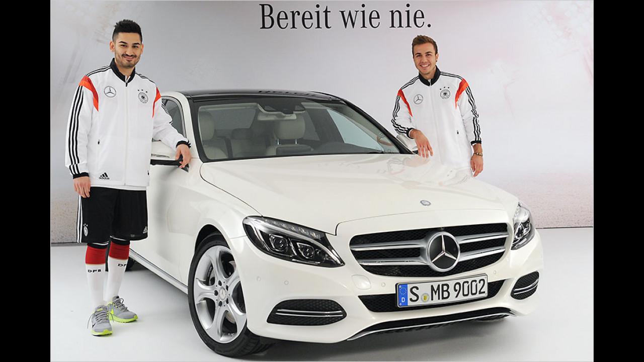 Ilkay Gündogan und Mario Götze: Mercedes