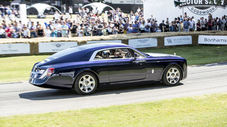 Rolls-Royce Sweptail Was In No Hurry At Goodwood FOS