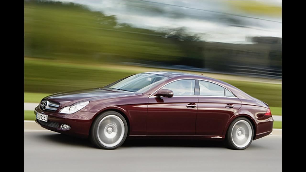 Obere Mittelklasse/Oberklasse, 0 bis 50.000 Kilometer: Mercedes CLS (2010)