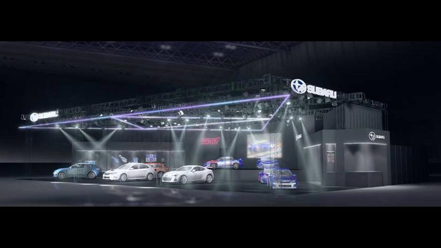 Subaru at the 2017 Tokyo Auto Salon