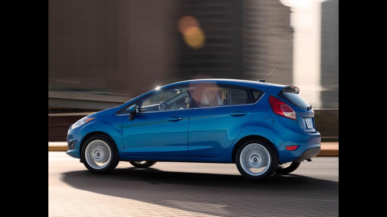 Fiesta foi o compacto mais vendido na Europa no 1º semestre