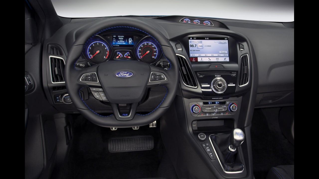 Ford deixa escapar e Focus RS 2016 aparece no configurador por US$ 35.730