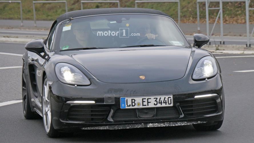 2018 Porsche 718 Boxster GTS spy photos