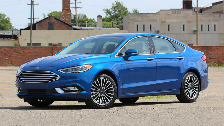 Review: 2017 Ford Fusion Titanium