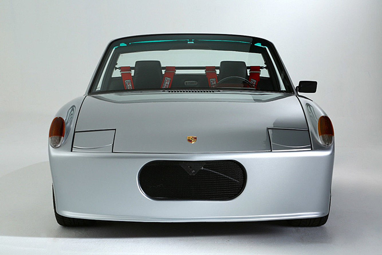 A V8 Heart Beats Inside this '70s Porsche 914