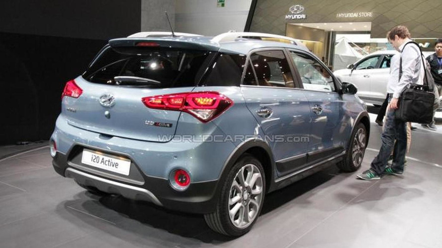 Hyundai i20 Active petite crossover tries to look rugged in Frankfurt