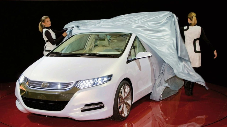Honda Insight Concept Unveiled in Paris