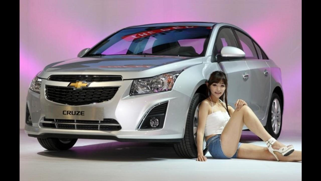 Vídeo: Chevrolet Cruze 2013 reestilizado é apresentado na Coréia do Sul