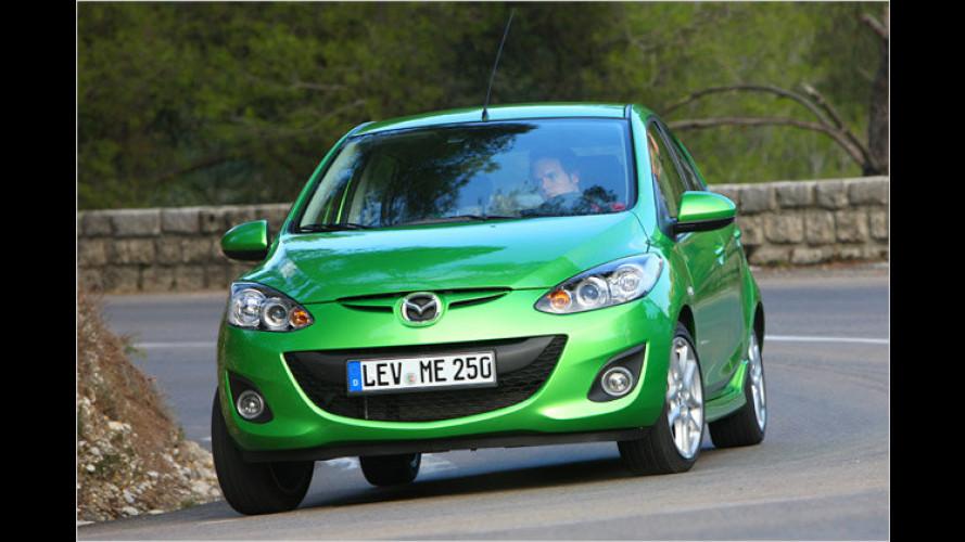 Pompöse Vorstellung: Der geliftete Mazda 2 im Test