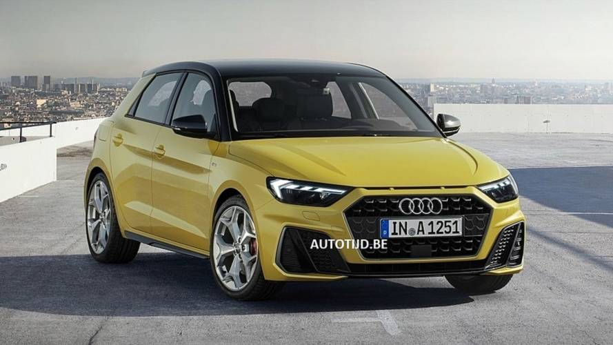 Audi A1 New Model >> 2019 Audi A1 Sportback S Line Leak Shows The Snazzy Supermini