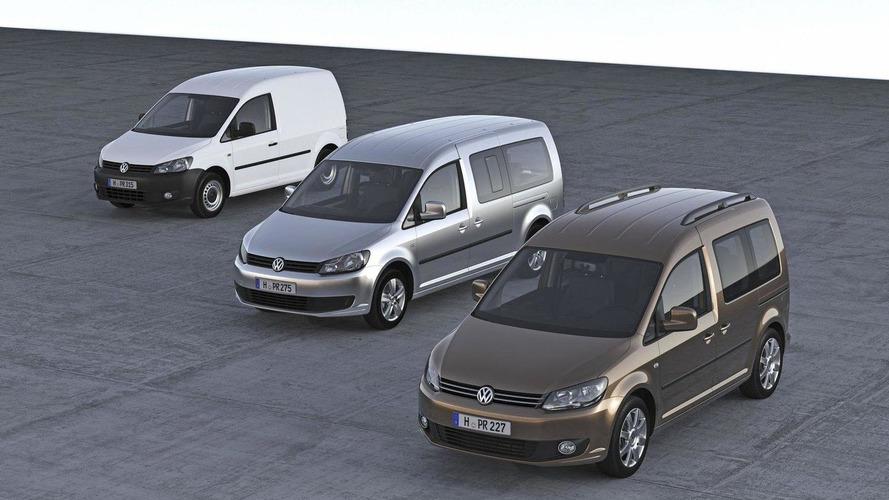 2011 Volkswagen Caddy major facelift revealed