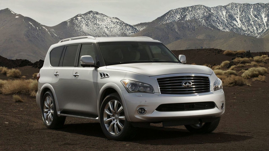 2011 Infiniti QX56 Officially Revealed with Prices