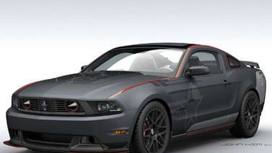 Roush & Shelby join forces to create SR-71 Charity Mustang