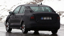 2012 VW Polo Sedan spy photo