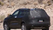 2011 Next Genration VW Touareg hybrid spy photo