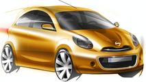 2010 Nissan Micra - Future Global Compact Car Design Sketch