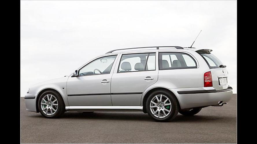 Edel-Kombi im Sport-Look: Skoda Octavia Limited Edition GT