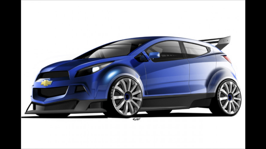 Chevrolets neuer Renner: Heißes Concept Car WTCC Ultra