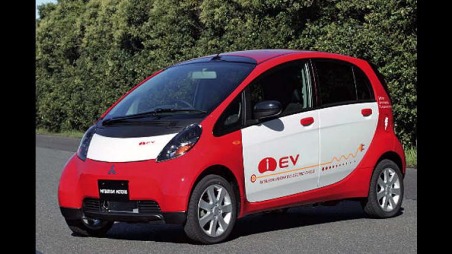 Mitsubishi i-EV: Elektromobil auf Basis des Kleinstautos