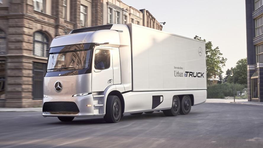 Mercedes Urban eTruck Concept has 200 km electric range