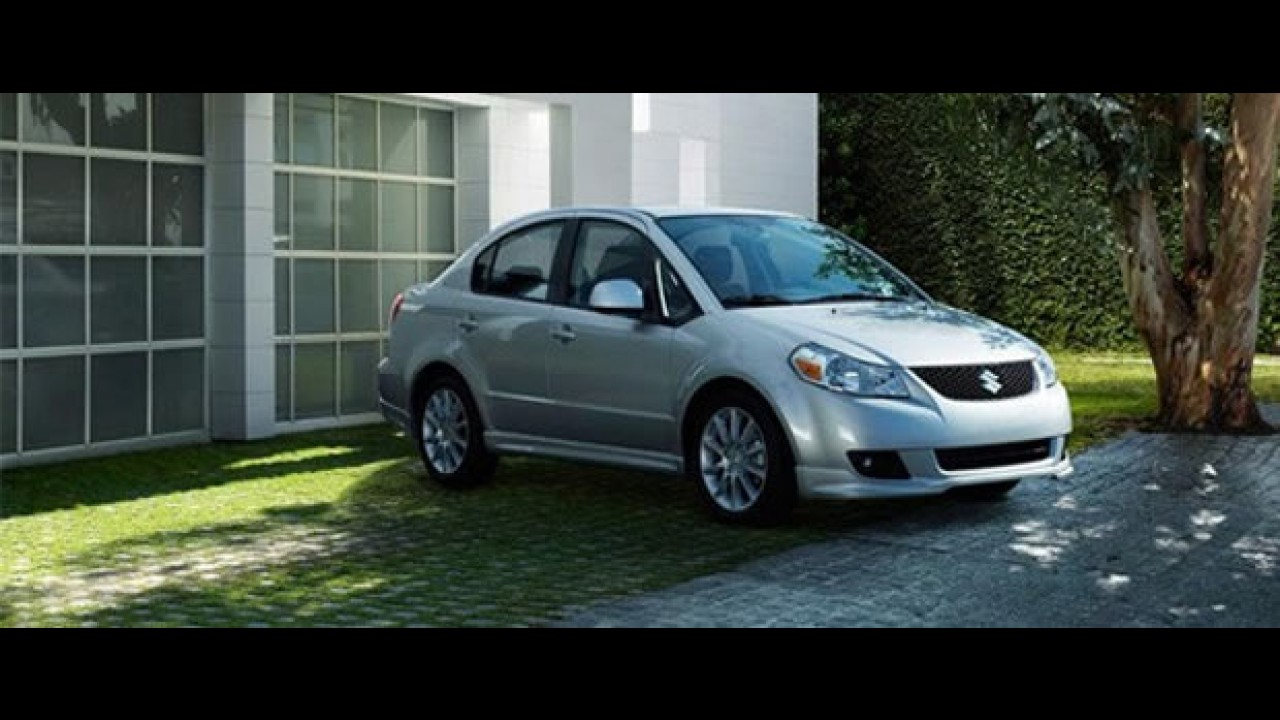 Suzuki SX4 2010 chega ao México com preço inicial equivalente a R$ 26.395