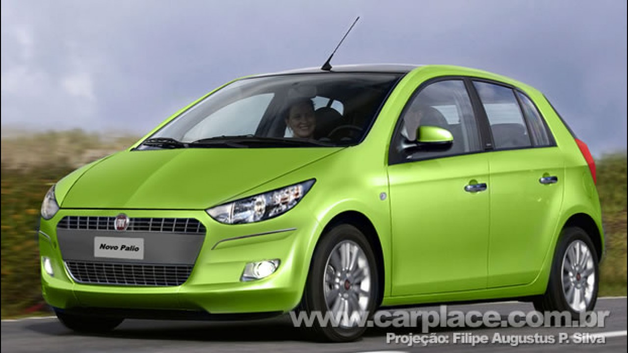 Novo Fiat Palio 2011 - Leitor faz projeção de como pode ser a nova geração do compacto