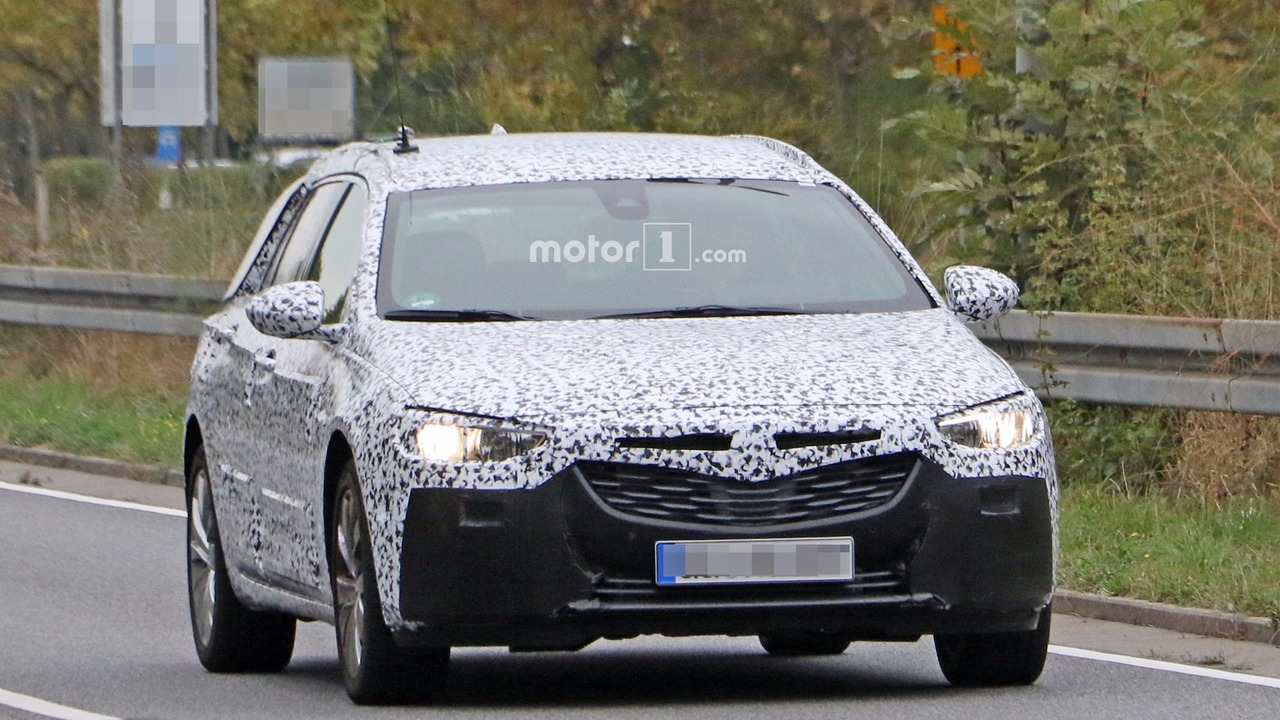 Opel Insignia Sports Tourer 2017 Photos espion