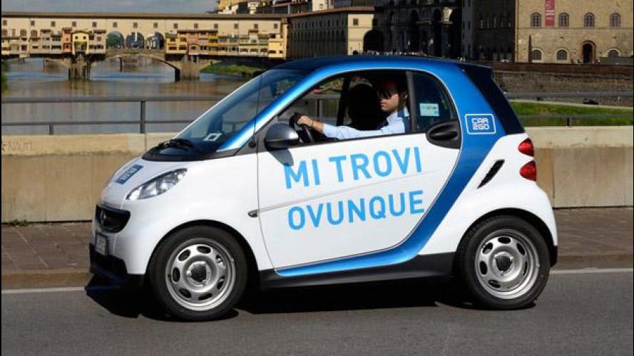 Car sharing, dopo l'errore car2go regala 30 minuti di guida