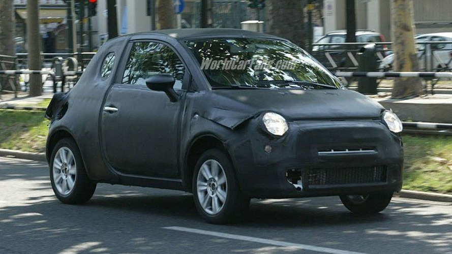 Spy Photos: More New Fiat 500