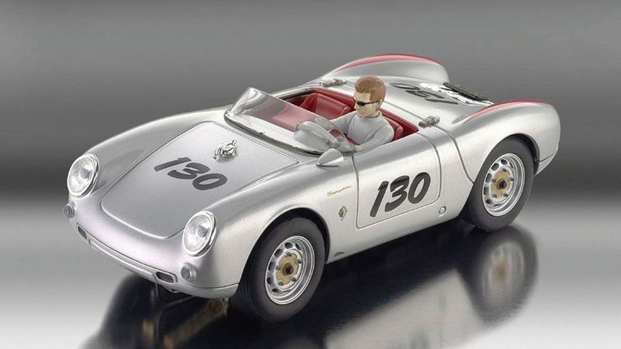 revell limited edition james dean porsche spyder 550 slot cars